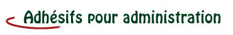 picto-adhesif-administration